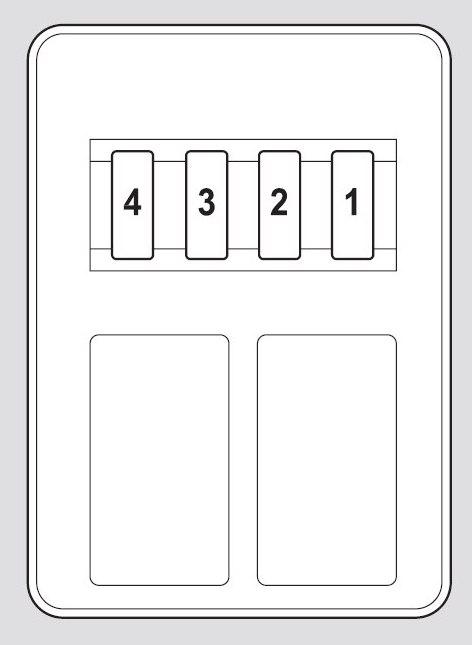 Honda Pilot  2012   U2013 Fuse Box Diagram