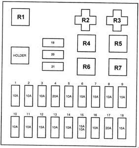 Hyundai H100 1997 Fuse Box Diagram Carknowledge Info