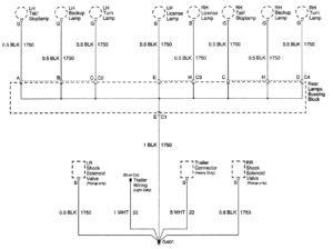 Cadillac Escalade – wiring diagrams – ground distribution (part 12)