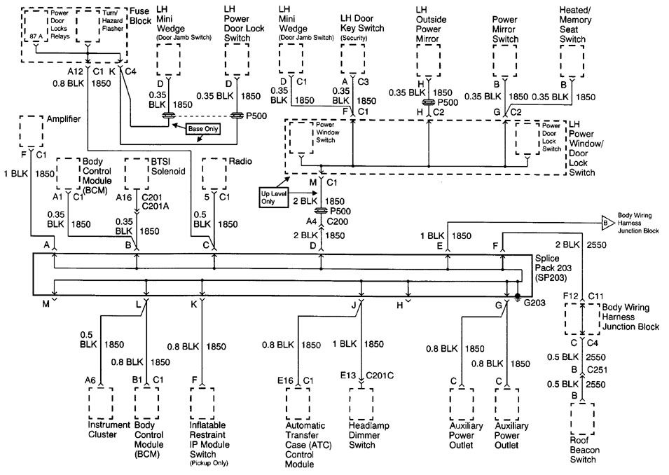 Cadillac Escalade 2000 Wiring Diagrams Ground Distribution Carknowledge Info