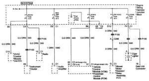 Cadillac Escalade – wiring diagrams – power distribution (part 10)