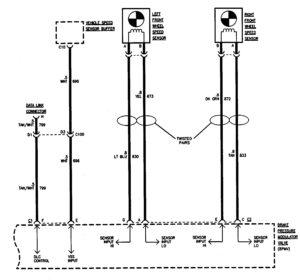 GMC Sierra 1500 – wiring diagrams – ABS (part 2)