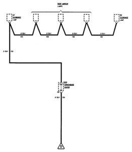 GMC Sierra 1500 – wiring diagrams – ground distribution  (part 7)