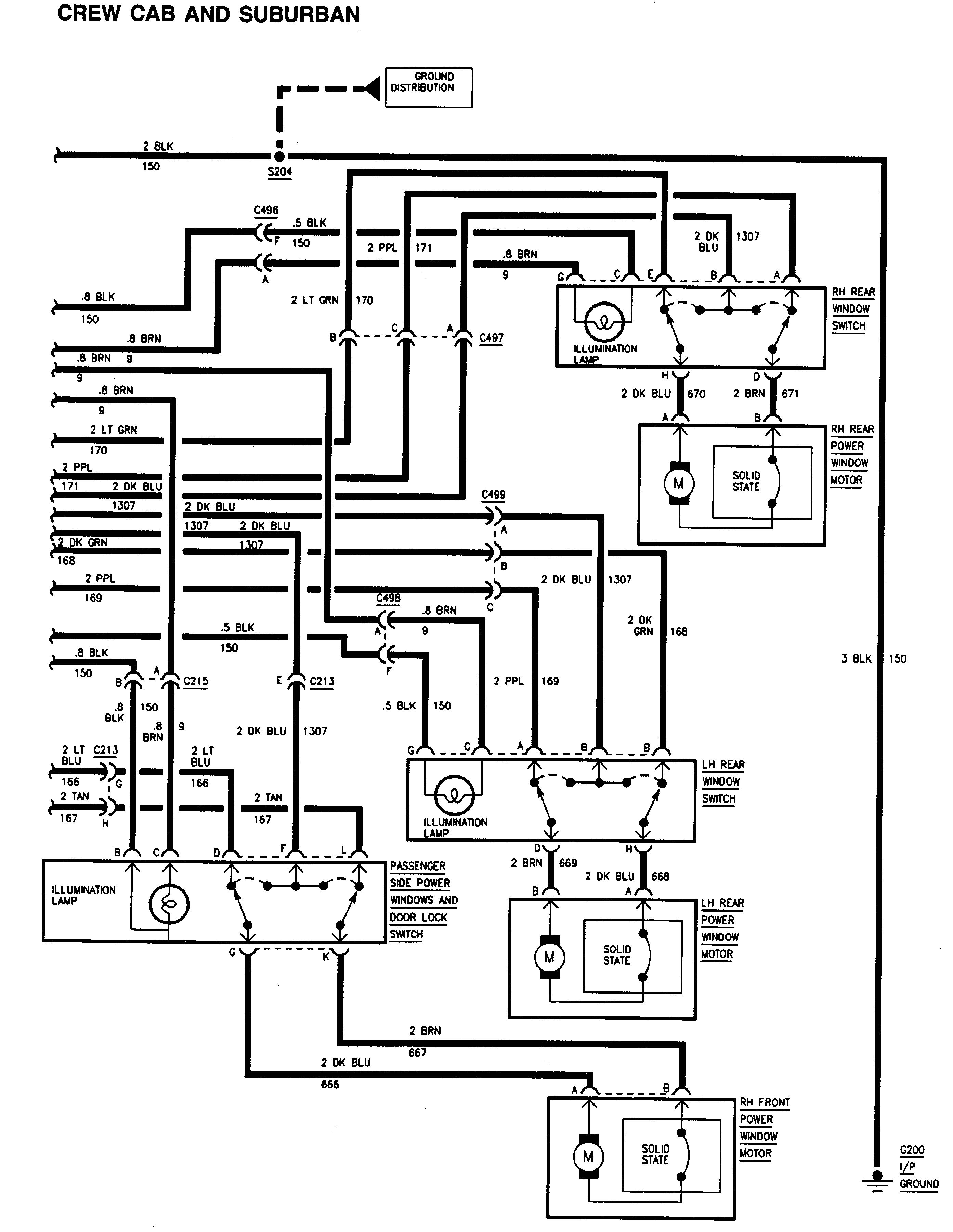 Gmc Sierra 1500 1995 Wiring Diagrams Power Windows Carknowledge Info