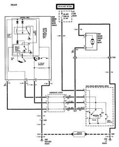 GMC Sierra 1500 – wiring diagrams – wiper/washer (part 2)