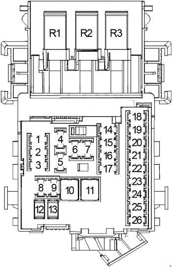 Buick Lacrosse Fuse Box Diagram