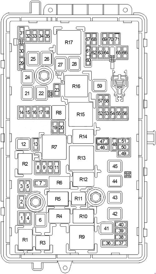 buick lacrosse (2010 2016) fuse box diagram carknowledge