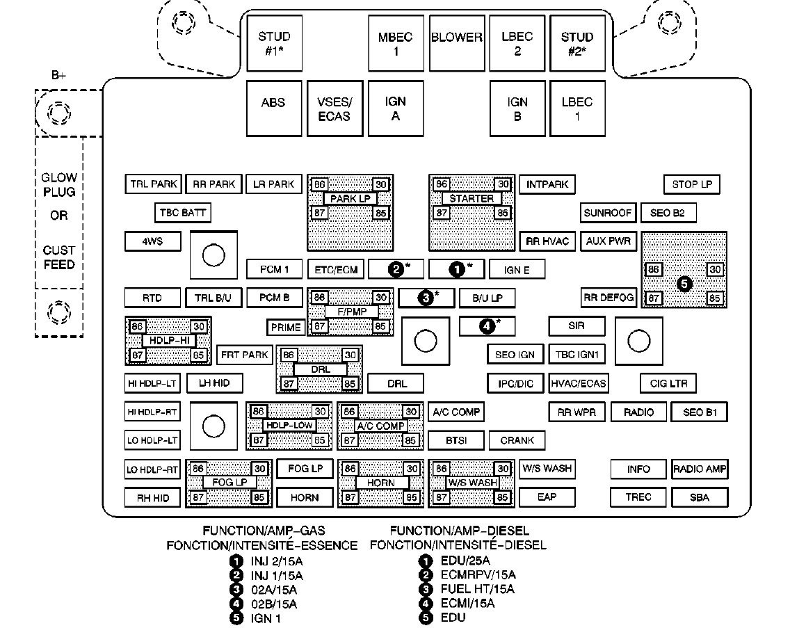 Fuse Box On 2004 Cadillac Deville - Diagram Data Pre 1997 buick lesabre fuse box diagram Diagram Data Pre