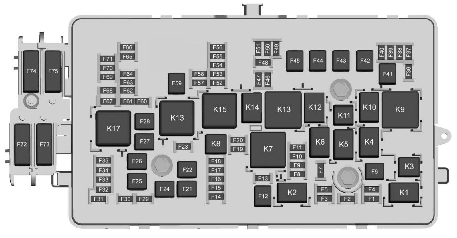 2009 Colorado Fuse Box - Wiring Diagram on