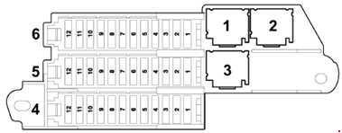 Audi Q7 (2005 – 2015) – fuse box diagram - CARKNOWLEDGE