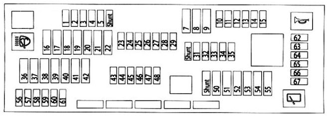[DIAGRAM_3US]  BMW X3 (F25; 2011 – 2017) – fuse box diagram - Carknowledge.info | 2010 Bmw X3 Fuse Box |  | Carknowledge.info