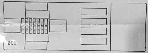 Bmw X5  F15  2014  U2013 2019   U2013 Fuse Box Diagram