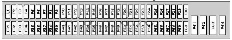 Bmw X5  E53  2000  U2013 2006   U2013 Fuse Box Diagram
