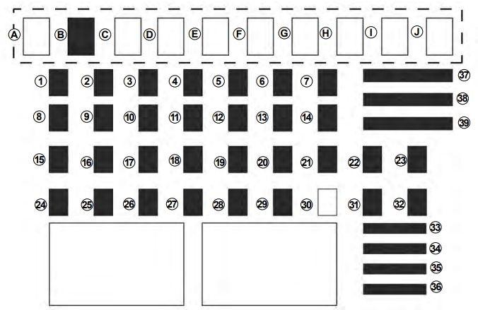 Dacia Logan Mcv  U2013 Fuse Box Diagram