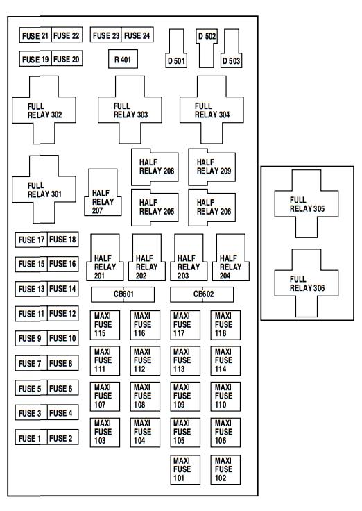 Fuse Box Diagram 2009 F 250