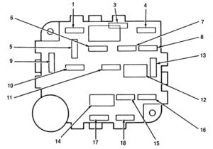 Lincoln Mark VIII (1996 - 1998) - fuse box diagram - Carknowledge.infoCarknowledge.info