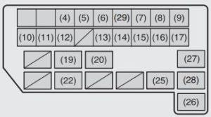 suzuki sx4 engine diagram maruti suzuki sx4  diesel  fuse box diagram carknowledge info  maruti suzuki sx4  diesel  fuse box