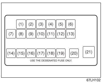 maruti suzuki wagon r 2015 fuse box diagram carknowledge. Black Bedroom Furniture Sets. Home Design Ideas