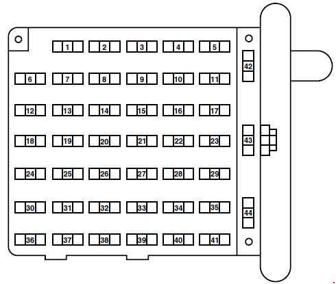 1990 cadillac deville fuse box for ford e 150  1997 2008  fuse box diagram carknowledge  ford e 150  1997 2008  fuse box