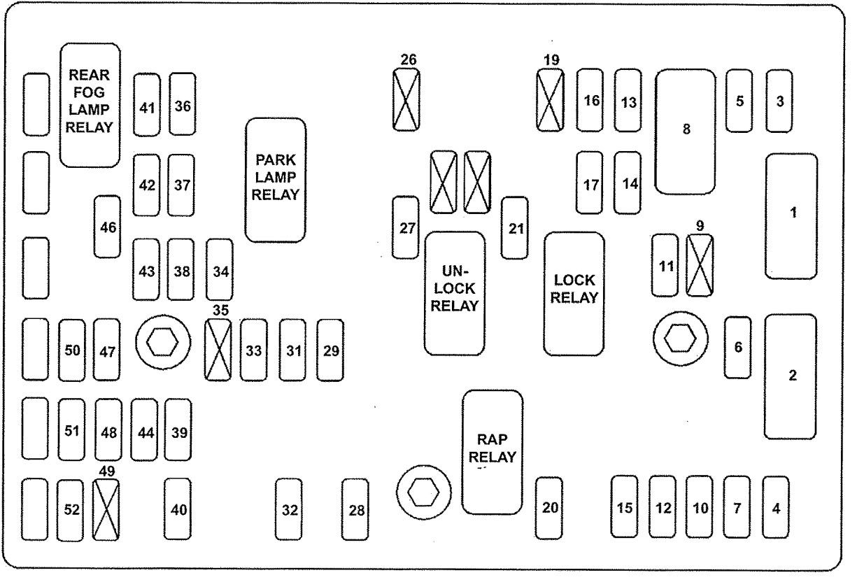 Get 04 F250 Fuse Box Diagram Pictures