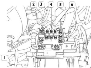 Iveco Daily - fuse box diagram - battery