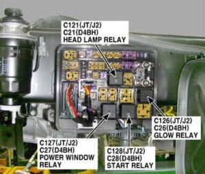 KIA K2700 - fuse box diagram