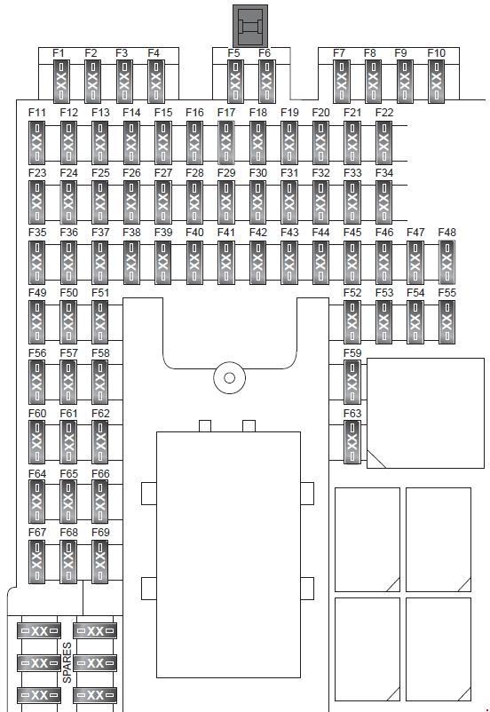 [DIAGRAM_5UK]  Land Rover Discover (2009 - 2016) – fuse box diagram - Carknowledge.info   Rover Fuse Box Diagram      Carknowledge.info