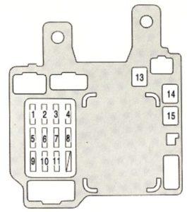 [DIAGRAM_09CH]  Lexus ES300 (1996) - fuse box diagram - Carknowledge.info | Lexus Fuse Box Diagram |  | Carknowledge.info