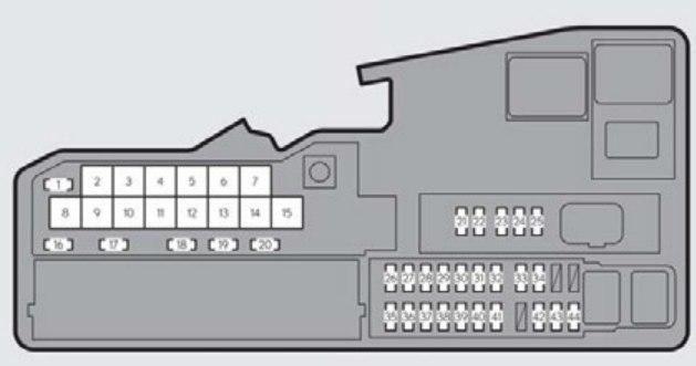 fuse box for lexus es300 lexus es300h  2012 2015  fuse box diagram carknowledge info  lexus es300h  2012 2015  fuse box