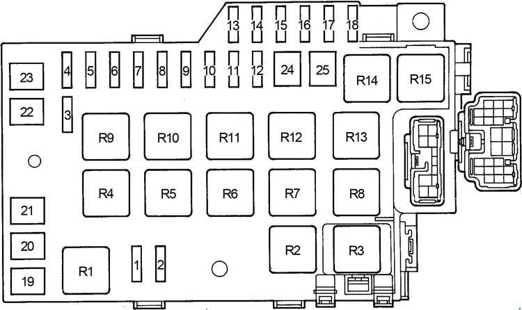 [DIAGRAM_09CH]  Lexus GS 300 S140 (1991 - 1997) - fuse box diagram - Carknowledge.info | Lexus Gs Fuse Box Diagram |  | Carknowledge.info