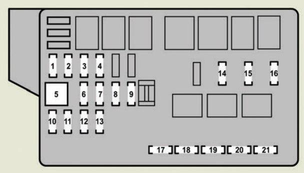 Lexus GS350 (2007) - fuse box diagram - Carknowledge.infoCarknowledge.info