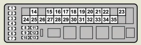 Lexus GS430 (2007) - fuse box diagram - Carknowledge.infoCarknowledge.info