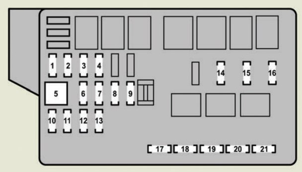 [SCHEMATICS_4FR]  Lexus GS430 (2007) - fuse box diagram - Carknowledge.info | Lexus Gs430 Fuse Box Location |  | Carknowledge.info