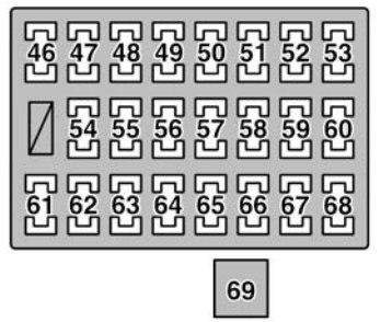 Lexus GX470 (2006) - fuse box diagram - Carknowledge.infoCarknowledge.info