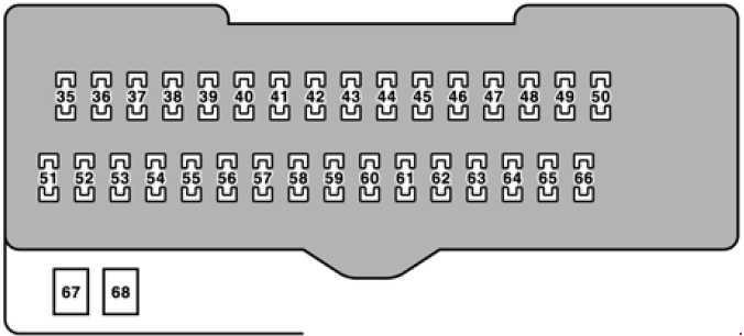 fuse box on lexus rx 350 lexus rx 330  2004 2006  fuse box diagram carknowledge info  lexus rx 330  2004 2006  fuse box