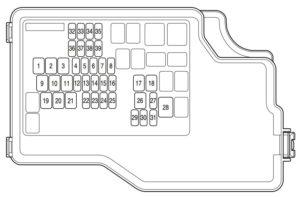 mazda sport 3 2011 fuse box diagram carknowledge. Black Bedroom Furniture Sets. Home Design Ideas
