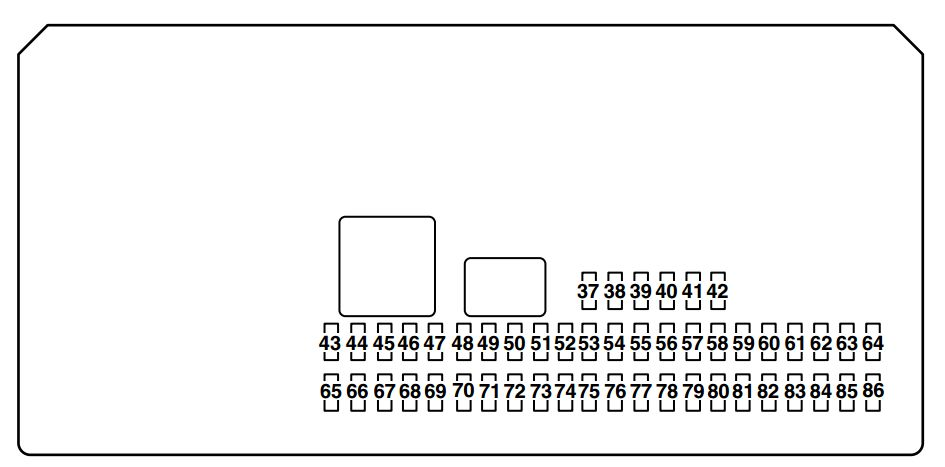 mazda sport 3 2009 fuse box diagram carknowledge. Black Bedroom Furniture Sets. Home Design Ideas