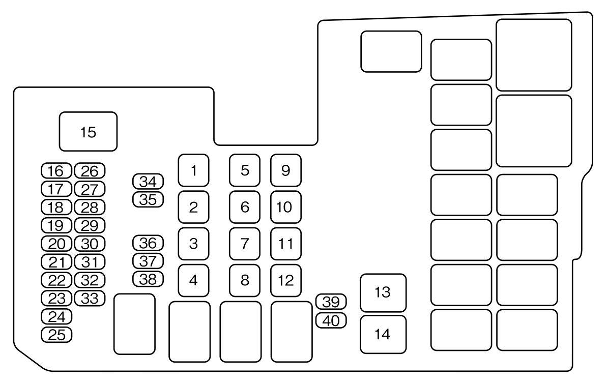 2008 mazda 5 fuse box mazda 5  2006  fuse box diagram carknowledge  mazda 5  2006  fuse box diagram