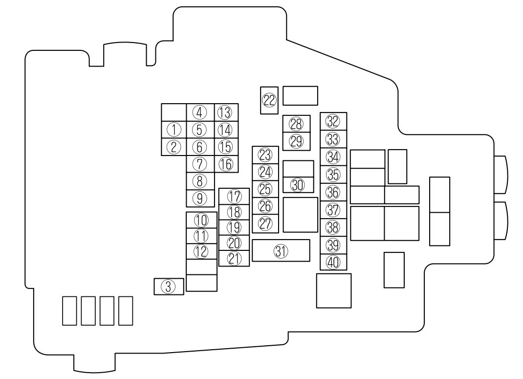 2011 gmc sierra fuse box diagram mazda 6  2009 2010  fuse box diagram carknowledge info  mazda 6  2009 2010  fuse box