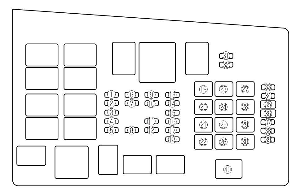 2001 mazda protege fuse diagram mazda 6  2006 2008  fuse box diagram carknowledge info  mazda 6  2006 2008  fuse box