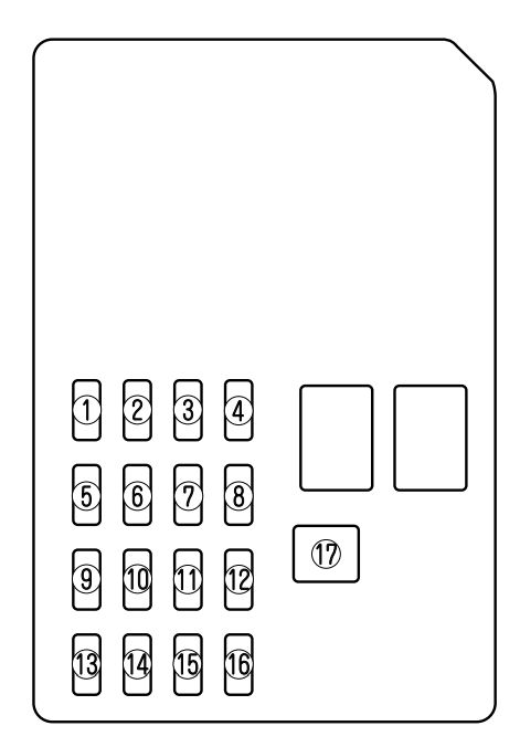 Mazda 6 (2009 - 2010) - fuse box diagram - Carknowledge.infoCarknowledge.info