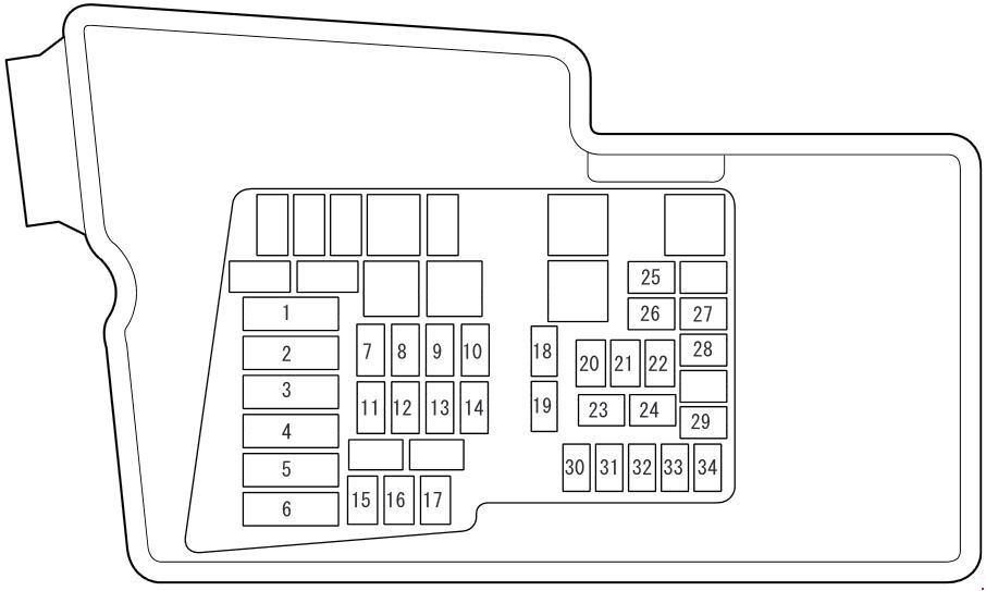 [ANLQ_8698]  Mazda CX-7 (2009 - 2012) - fuse box diagram - Carknowledge.info   Fuse Box For 2007 Mazda Cx 9      Carknowledge.info