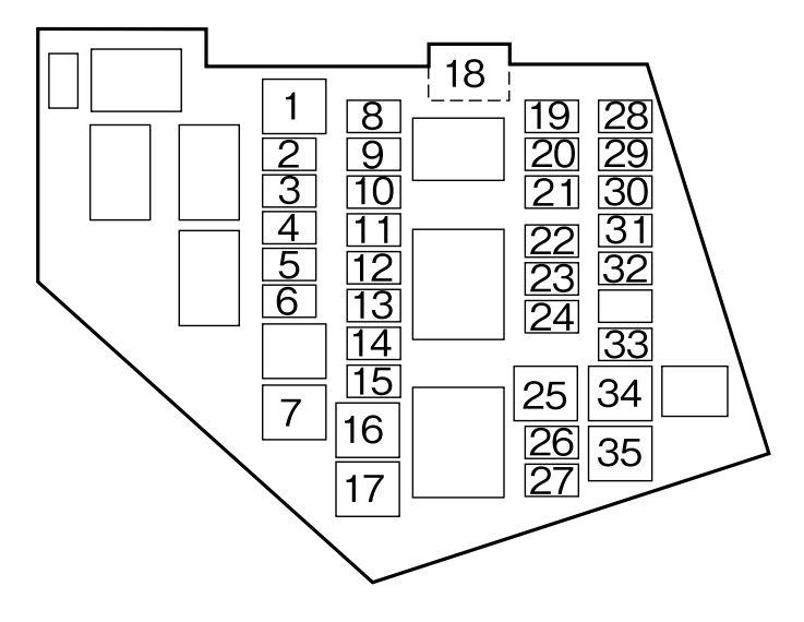 [SCHEMATICS_4PO]  Mazda MX-5 (2006) - fuse box diagram - Carknowledge.info | Mazda Premacy Fuse Box Diagram |  | Carknowledge.info