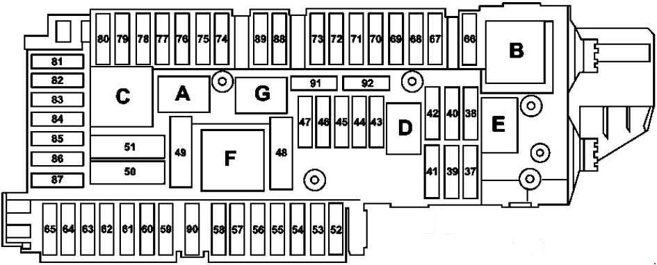 2011 gmc sierra fuse box diagram mercedes benz c class w204  2007 2014  fuse box diagram  mercedes benz c class w204  2007 2014