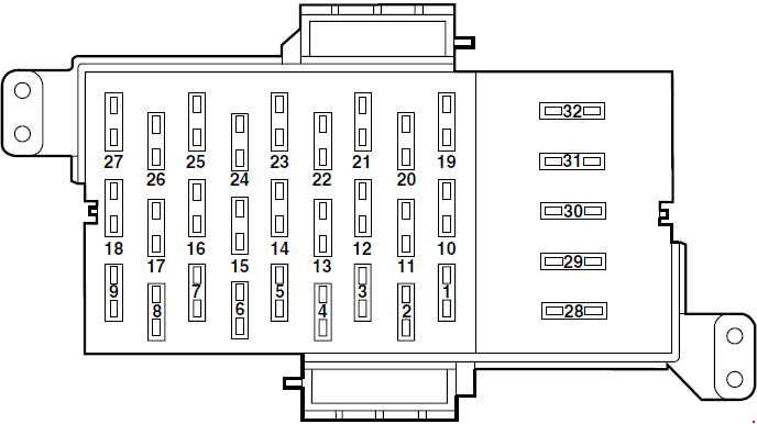98 mercury grand marquis engine diagram mercury grand marquis  2003 2011  fuse box diagram  mercury grand marquis  2003 2011