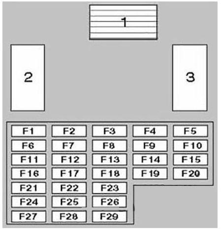 1997 grand marquis fuse diagram nissan patrol  1997 2003  fuse box diagram carknowledge info  nissan patrol  1997 2003  fuse box