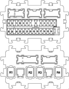 2008 Nissan Fuse Box    Diagram     Reading industrial    wiring