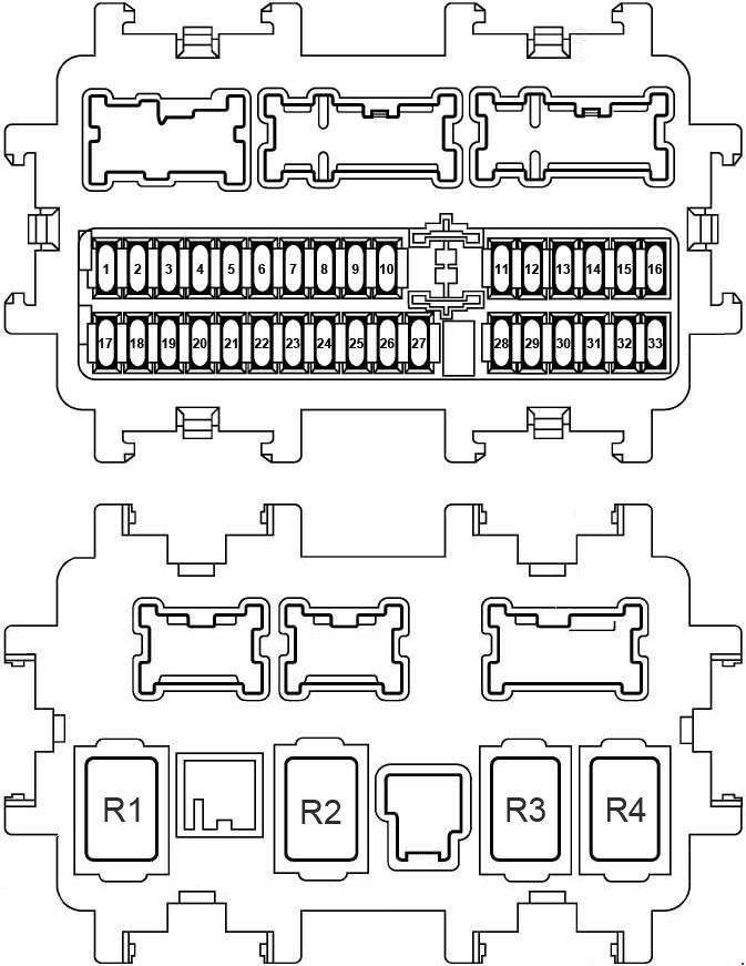 Nissan X-Trail (2014 - 2018) - fuse box diagram - Carknowledge.infoCarknowledge.info