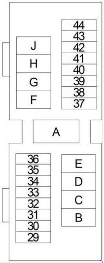 nissan xterra 1999 2004 fuse box diagram carknowledge info nissan xterra 1999 2004 fuse box