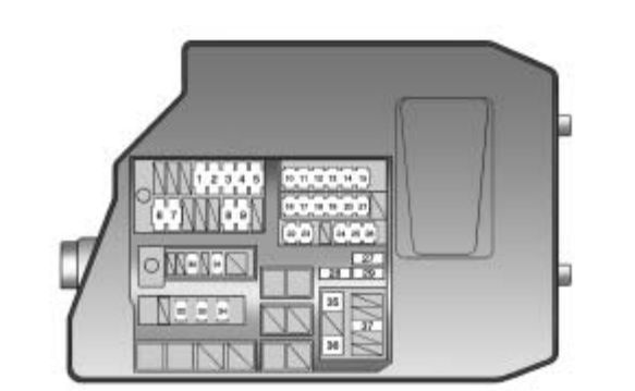 Pontiac Vibe (2010) - fuse box diagram - Carknowledge.infoCarknowledge.info